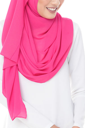 Marcella Instant Scarf in Deep Cerise