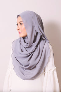 Essential Scarf in Ash Gray