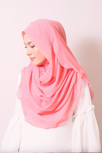 Essential Scarf in Salmon Rose