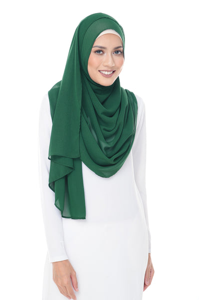 Marcella Instant Scarf in Forest Shade