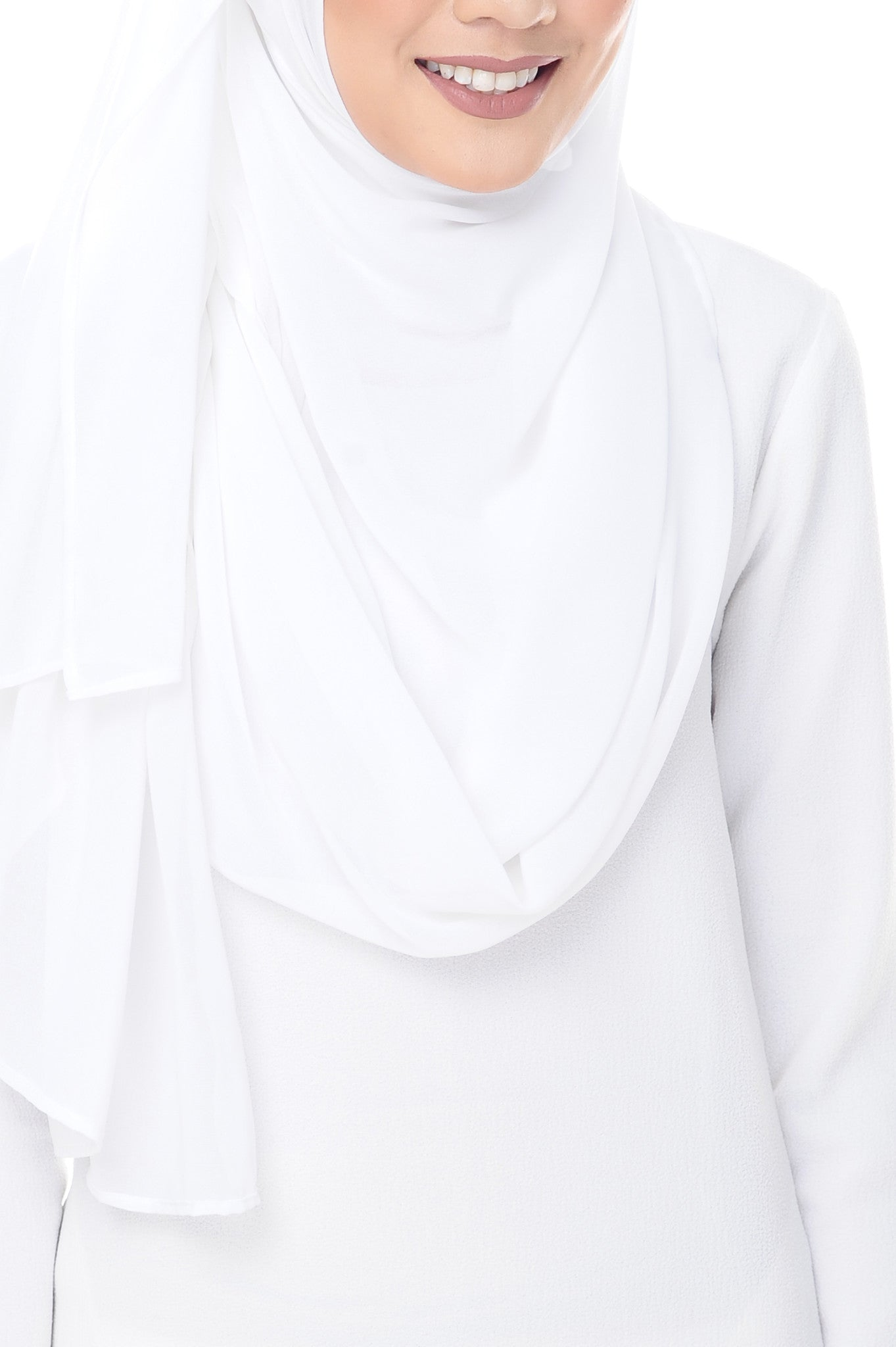Marcella Instant Scarf in Off White