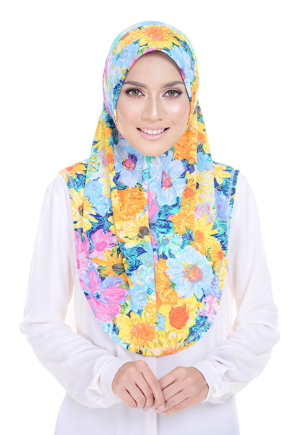 Sunflower Instant Scarf