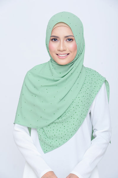 Be Dazzled Scarf in Pistachio