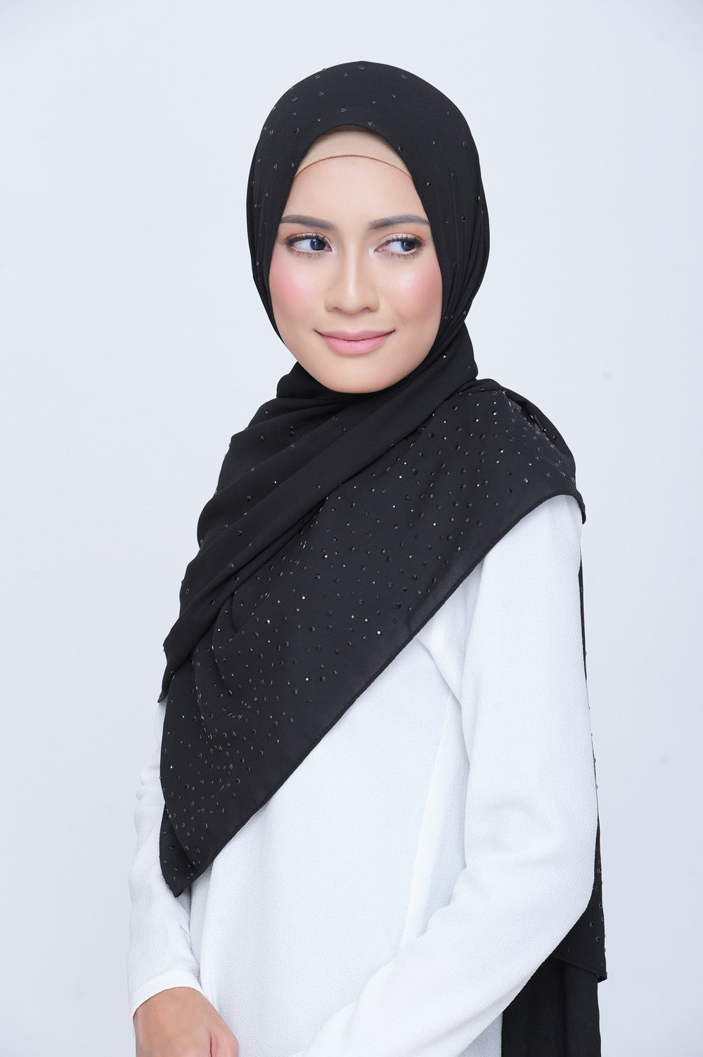 Be Dazzled Scarf in The Black Stones