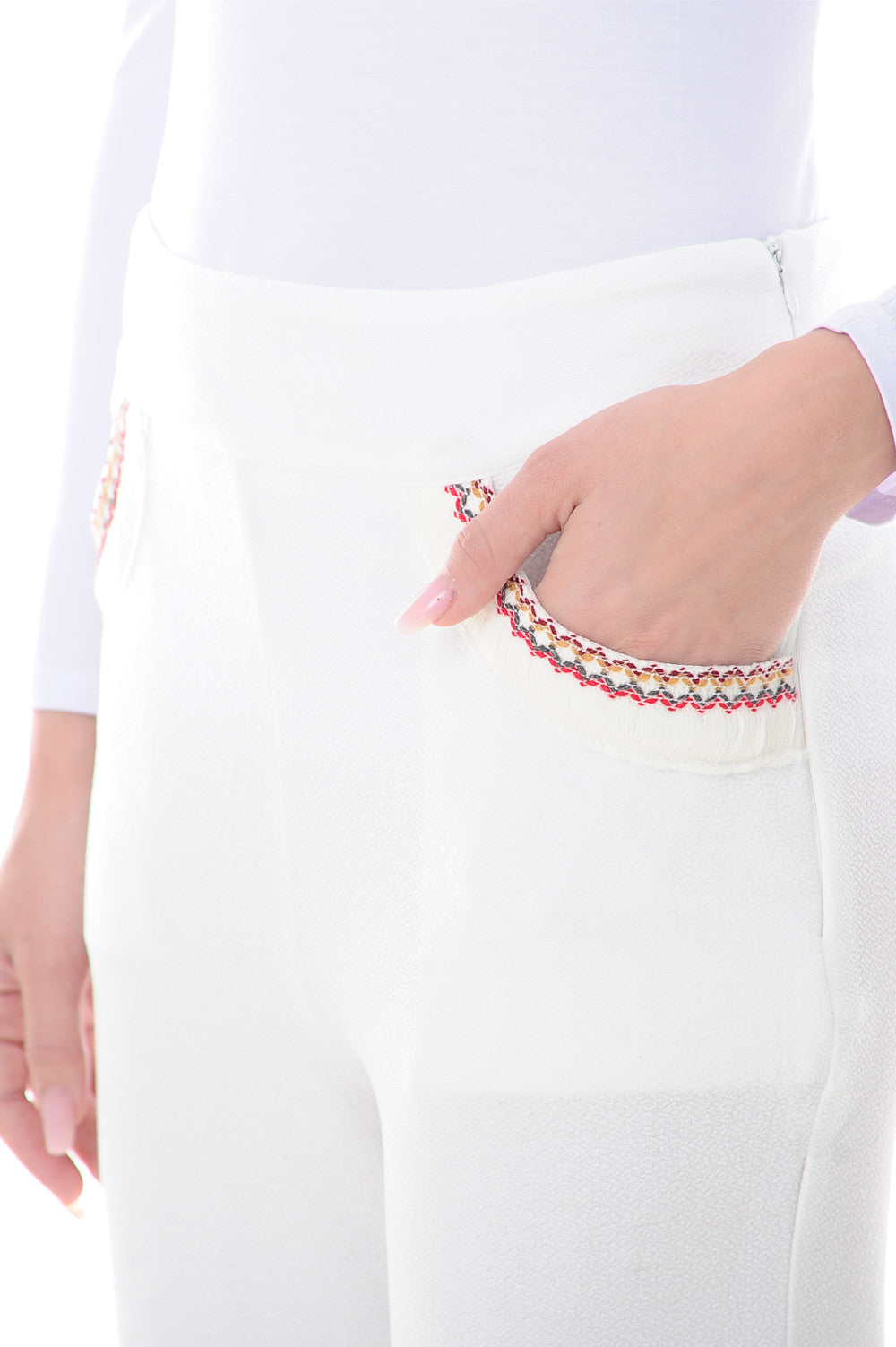 Bohemian Pants in White