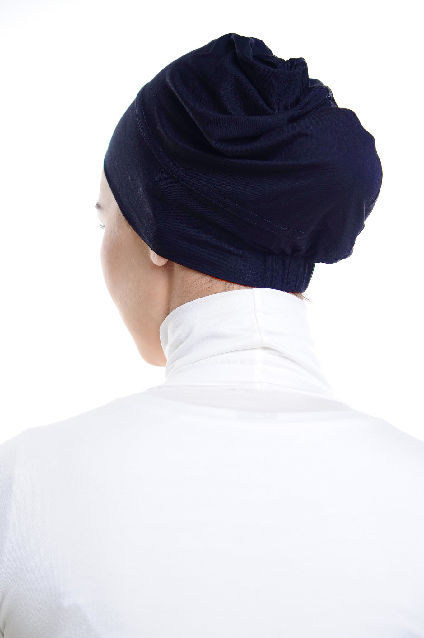 Snow Cap in Patriot Blue without ear loop