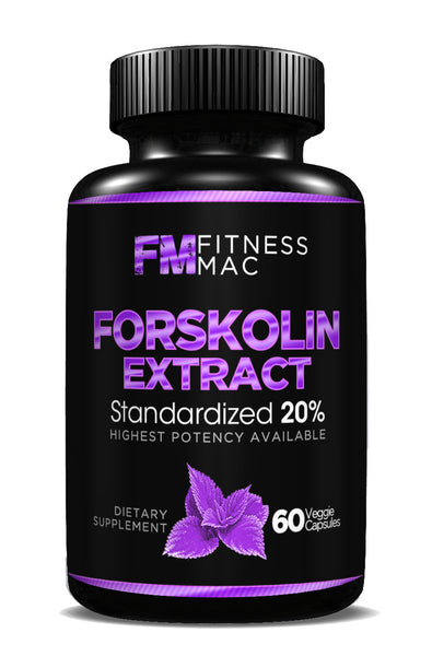 100% Pure Forskolin Extract - Weight Loss Supplement, Promotes Anti-Aging, Boosts Metabolism, 60 Safe and Effective Diet Pills