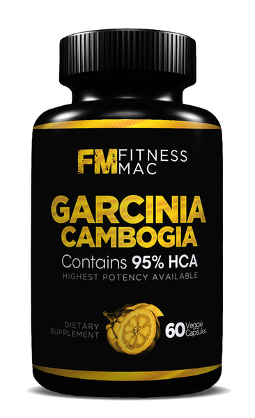 100% Pure Garcinia Cambogia Extract with 95% HCA - Carb Blocker, Appetite Suppressant & Weight Loss Supplement - Includes FREE ebook!