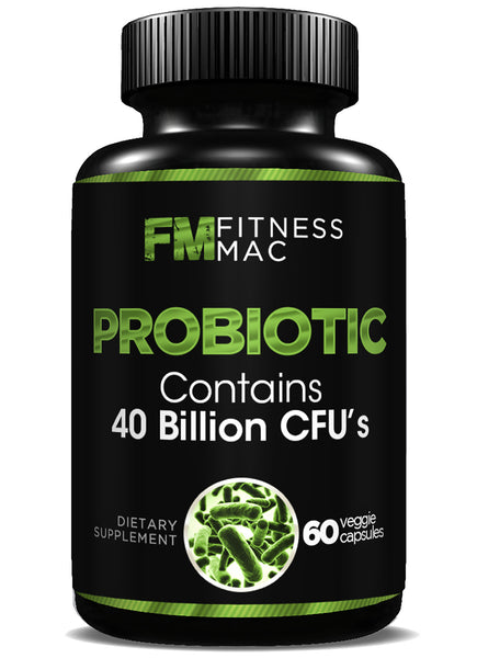 Daily Probiotic with 40 Billion CFU's - Improves Immune System, Intestinal Health, Digestion, and Bowel Regularity