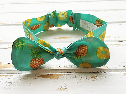 Pineapple cotton headband