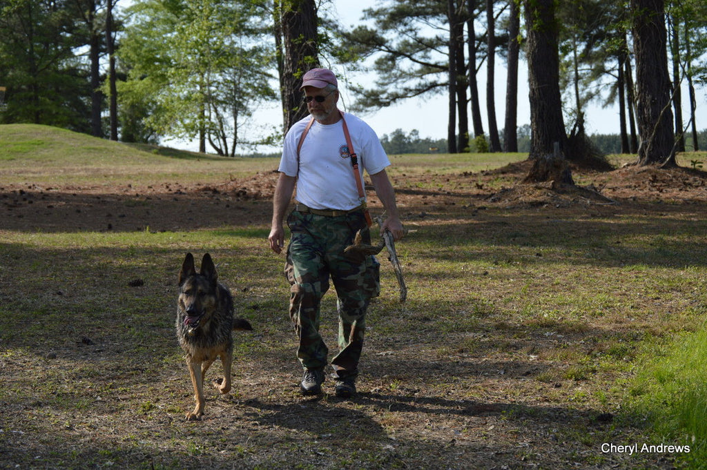 The Art of Honor – Custom Carpenter turned Search and Rescue Handler turned Canine Carver