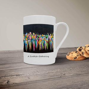 A Scottish Gathering - Bone China Mug