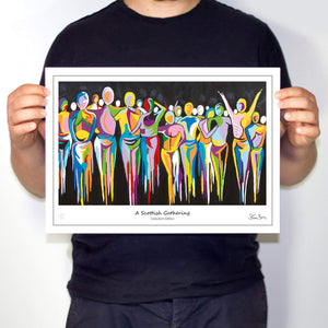 A Scottish Gathering - Collector's Edition Prints