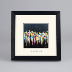 A Scottish Gathering - Digital Mounted Print