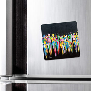 A Scottish Gathering - Fridge Magnet