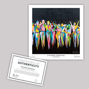 A Scottish Gathering - Mini Limited Edition Print