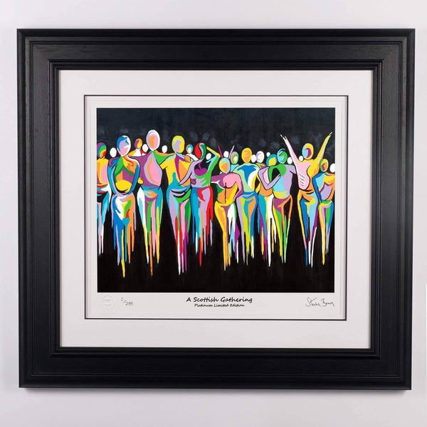 A Scottish Gathering - Platinum Limited Edition Prints