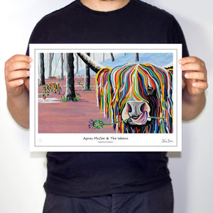 Agnes McCoo & The Weans - Collector's Edition Prints