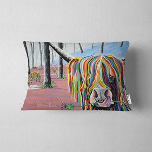 Agnes McCoo & The Weans - Faux Suede Cushions