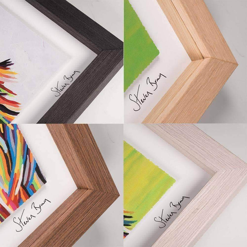Agnes McCoo & The Weans - Framed Limited Edition Floating Prints