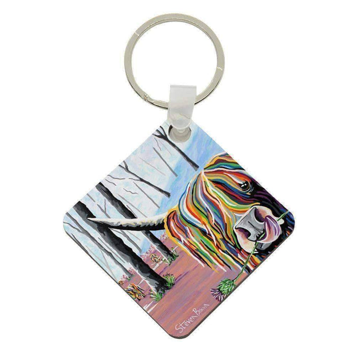Agnes McCoo & The Weans - Acrylic Keyring