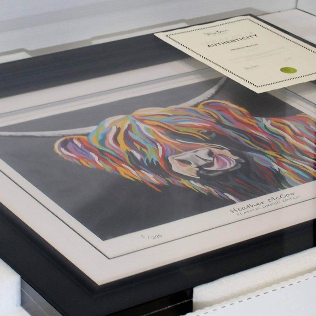 Agnes McCoo & The Weans - Platinum Limited Edition Prints