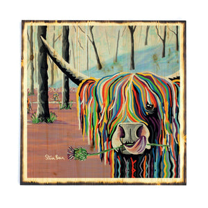 Agnes McCoo & The Weans - Timber Print