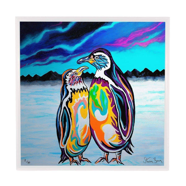 Alec & Annie McZoo - Framed Limited Edition Aluminium Wall Art