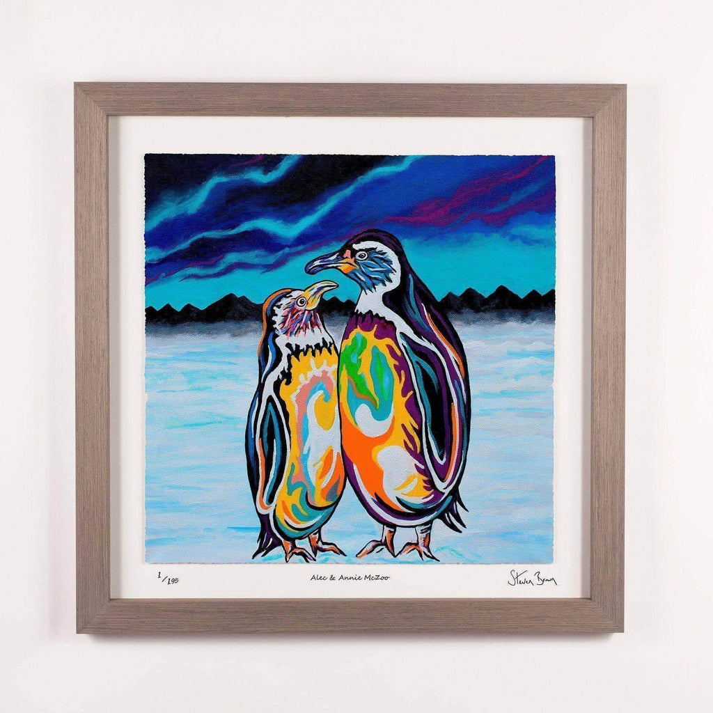 Alec & Annie McZoo - Framed Limited Edition Floating Prints