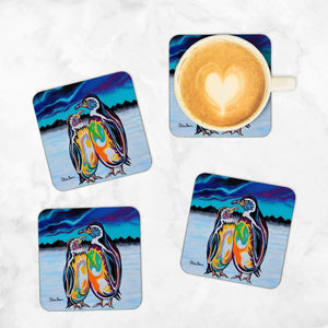 Alec & Annie McZoo - Set of 4 Coasters