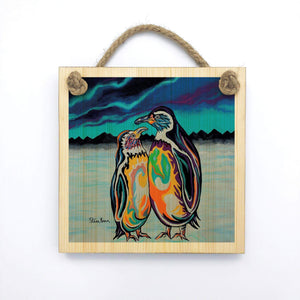 Alec & Annie McZoo - Wooden Wall Plaque