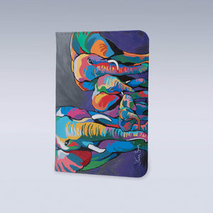 Allan & Jackie McZoo - Passport Cover