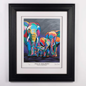 Allan & Jackie McZoo - Platinum Limited Edition Prints