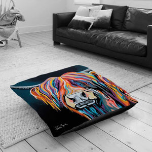 Ally McCoo - Floor Cushion