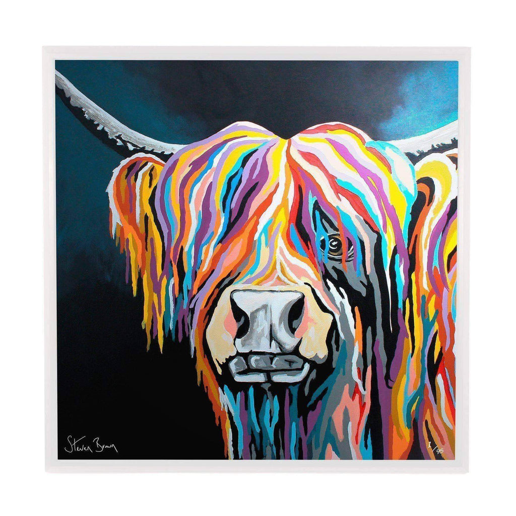 Ally McCoo - Framed Limited Edition Aluminium Wall Art