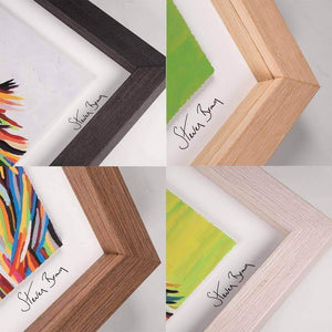 Ally McCoo - Framed Limited Edition Floating Prints