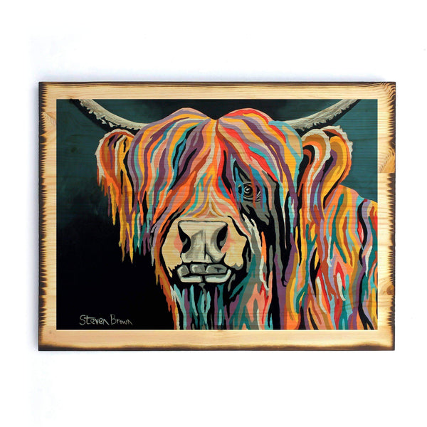Ally McCoo - Timber Print