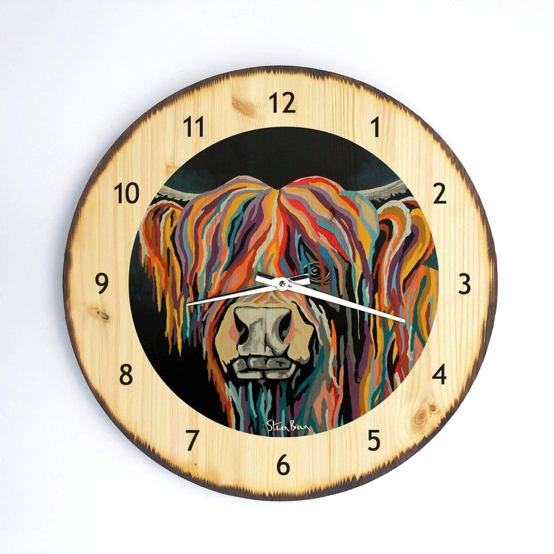 Ally McCoo - Wooden Clock