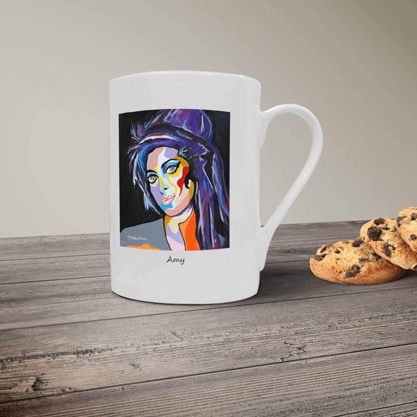 Amy Winehouse - Bone China Mug