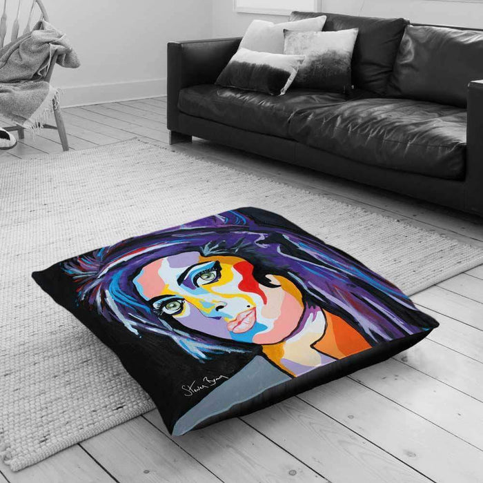 Amy Winehouse - Floor Cushion