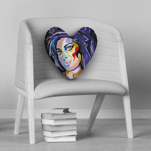 Amy Winehouse - Heart Cushion