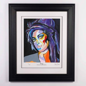 Amy Winehouse - Platinum Limited Edition Prints