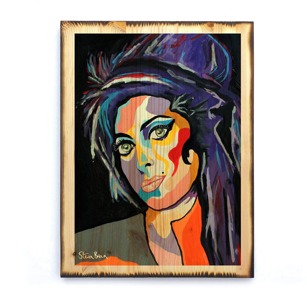 Amy Winehouse - Timber Print