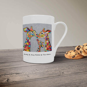 Andy & Amy McZoo and the Wean - Bone China Mug