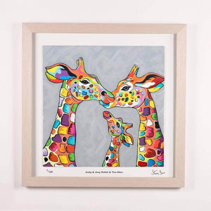 Andy & Amy McZoo and the Wean - Framed Limited Edition Floating Prints