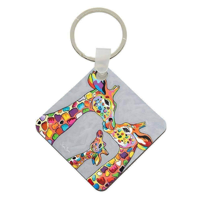 Andy & Amy McZoo and the Wean - Acrylic Keyring
