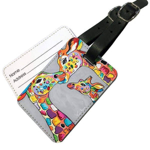 Andy & Amy McZoo and the Wean - Luggage Tag