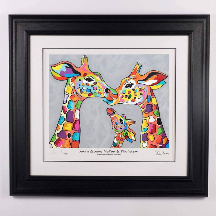 Andy & Amy McZoo and the Wean - Platinum Limited Edition Prints