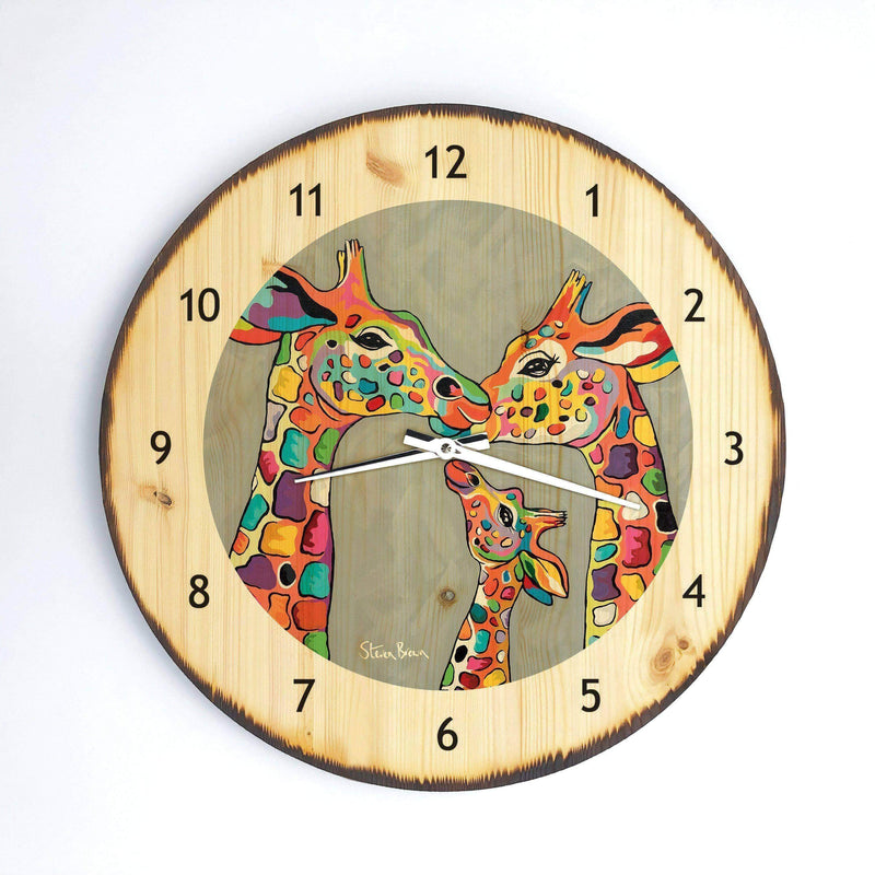 Andy & Amy McZoo and the Wean - Wooden Clock