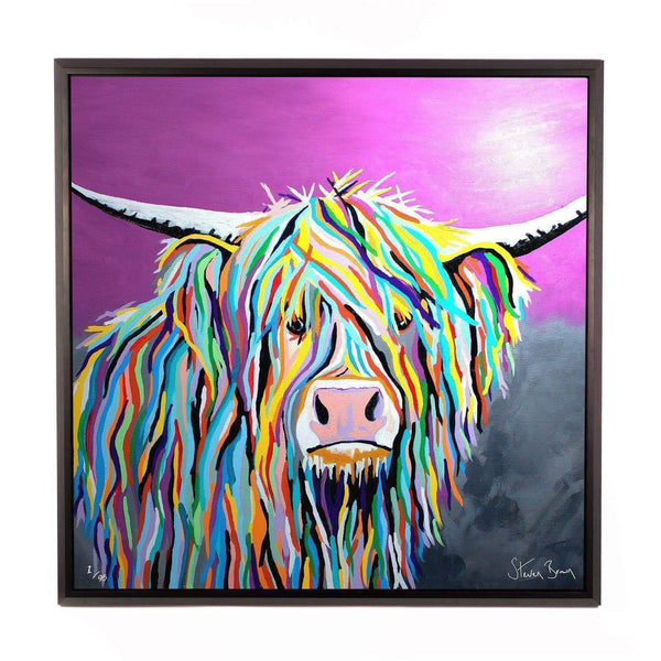 Angus McCoo - Framed Limited Edition Aluminium Wall Art